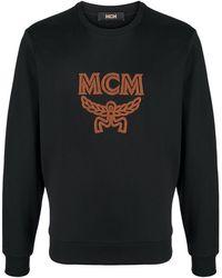MCM Logo Embroidered Jumper - Black