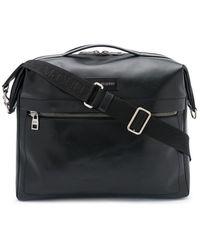 Alexander McQueen Logo-patch Tote Bag - Black