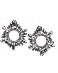 "AMINA MUADDI ""begum Mini"" Earrings - Metallic"