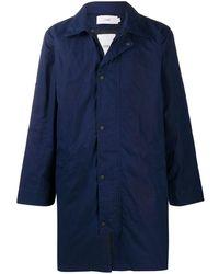 Closed Lightweight Coat - Blue