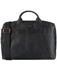 MYOMY Zwarte Laptoptas My Philip Bag Business