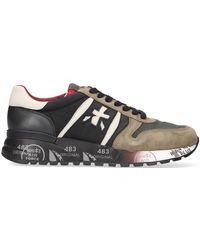 Premiata Groene Lage Sneakers Lander