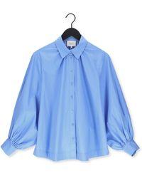 Second Female Blauwe Blouse Totema New Shirt