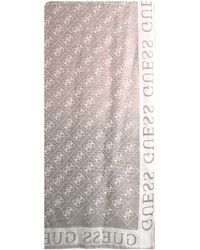 Guess Braune Schal Cathleen Jacquard Scarf
