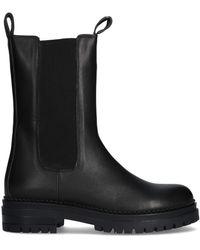Notre-v Zwarte Chelsea Boots 753008