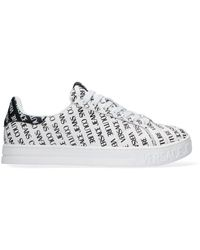 Versace Jeans Couture Witte Lage Sneakers Court 88 Dis 24
