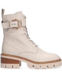 Notre-v Beige Chelsea Boots An1400 - Wit