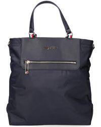Tommy Hilfiger Blaue Handtasche Tommy Fresh Tote Corp