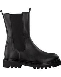 PS Poelman Zwarte Chelsea Boots Lpcsaturno