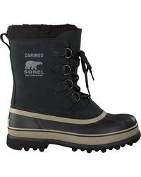 Sorel Schwarze Ankle Boots Caribou Wl