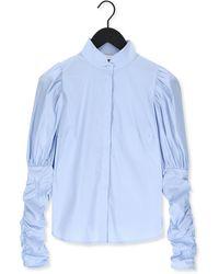 Notes Du Nord Lichtblauwe Blouse Nila Shirt