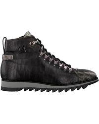 Harris Zwarte Hoge Sneaker 0727