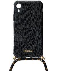 Omoda Schwarze Accessoires Handykette Xr Iphone Koord