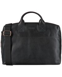 MYOMY Zwarte Laptoptas My Philip Bag Business