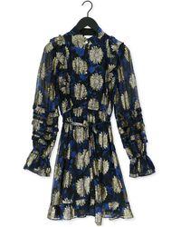 FABIENNE CHAPOT Zwarte Mini Jurk Leonie Festive Dress - Meerkleurig