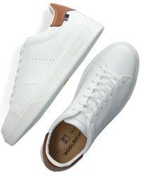 Woolrich Witte Lage Sneakers Sneaker Suola Scatola
