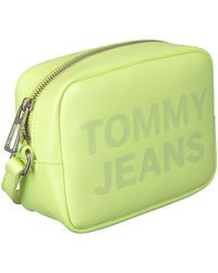 Tommy Hilfiger Grüne Umhängetasche Camera Bag