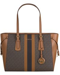 Michael Kors Bruine Shopper Md Mf Tz Tote