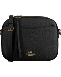 COACH Zwarte Schoudertas Camera Bag