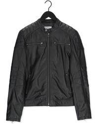 Goosecraft Zwarte Leren Jas Jacket965