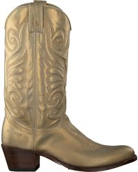 Sendra Gouden Cowboylaarzen 11627 - Metallic