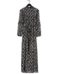 FABIENNE CHAPOT Multi Maxi Jurk Leonie Maxi Dress - Zwart