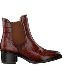 Gabor - Cognac Chelsea Boots 650 - Lyst