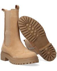 Notre-v Camel Chelsea Boots 753090 - Naturel