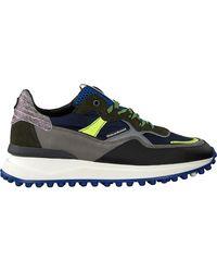 Floris Van Bommel Blauwe Lage Sneakers 16314