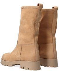 Notre-v Camel Enkel Boots 753114 - Naturel
