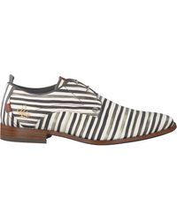 Rehab Witte Nette Schoenen Greg Stripes Liz
