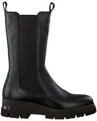 Notre-v Zwarte Chelsea Boots Kim
