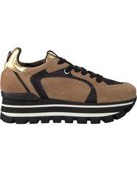Janet & Janet Camel Lage Sneakers 46652 - Meerkleurig