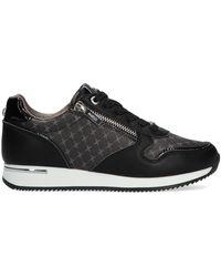 Mexx Zwarte Lage Sneakers Djana