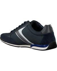 BOSS by Hugo Boss - Blauwe Lage Sneakers Saturn Lowp - Lyst