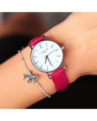 My Jewellery Roze Horloge Small Vintage Watch - Metallic