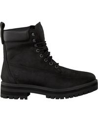 Timberland Schwarze Schnürboots Courma Guy Boot Wp