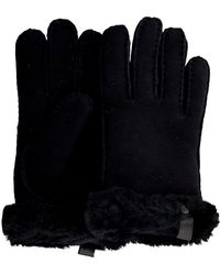UGG Zwarte Handschoenen Shorty Glove W/trim