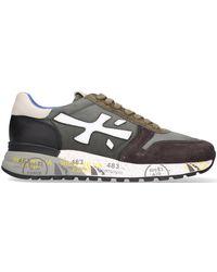 Premiata Groene Lage Sneakers Mick