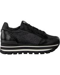 Janet & Janet Zwarte Lage Sneakers 46657
