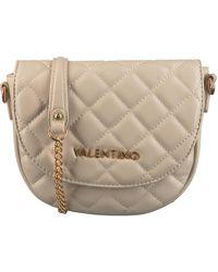 Valentino - Beige Valentino Handbags Umhängetasche Ocarina Satchel - Lyst