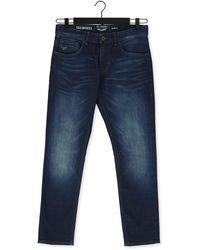 PME LEGEND Slim Fit Jeans Tailwheel Dark Shadow WAsh - Blau