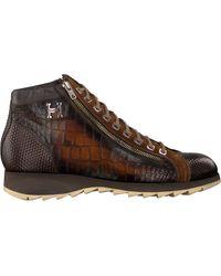 Harris Cognac Hoge Sneaker 0720 - Bruin