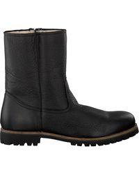 Blackstone Zwarte Lange Laarzen Om21