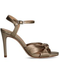Unisa Bronzefarbene Sandalen Yebo - Mettallic
