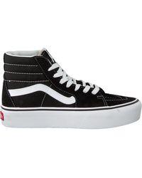 Vans Zwarte Sneakers Sk8 Hi Platform