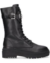 NIKKIE Zwarte Veterboots Lynn Boots