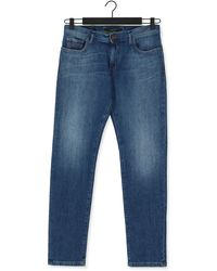 ALBERTO Slim Fit Jeans Slim - Organic Denim - Blau