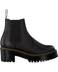 Dr. Martens Zwarte Chelsea Boots Rometty