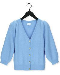 FABIENNE CHAPOT Lichtblauwe Vest Sally Cardigan 3/4 Sleeve